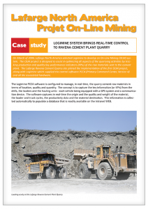 Lafarge North Ameica case study